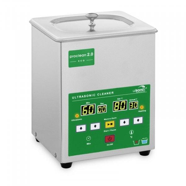 Limpiador por ultrasonidos - 2 litros - 60 W - Memory Quick Eco