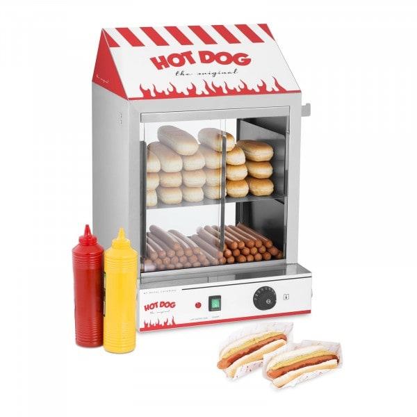 Máquina de perritos calientes al vapor - 2.000 W