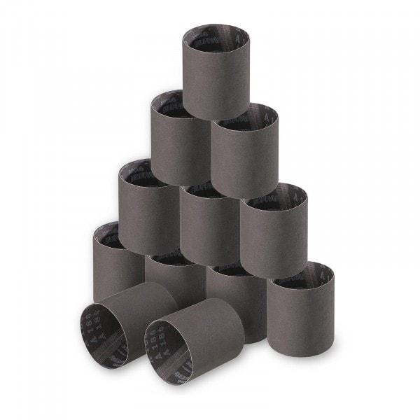12 cintas abrasivas - grano de 180