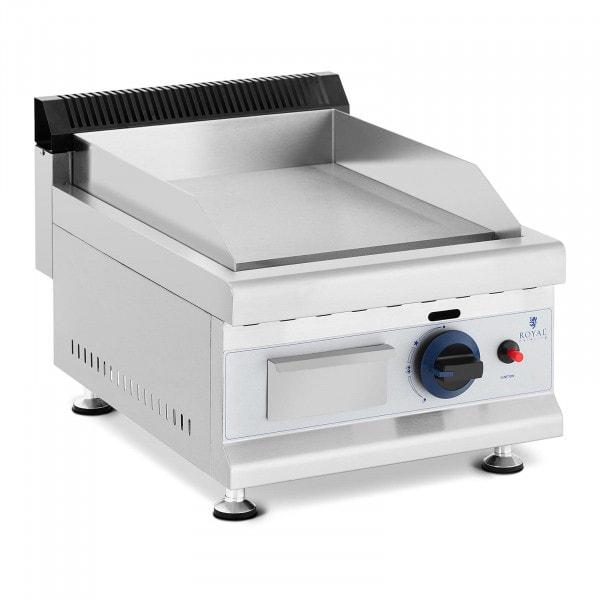 Plancha fry-top de gas - 35 x 40 cm - liso - 3.000 W - propano/butano - 0,03 bar