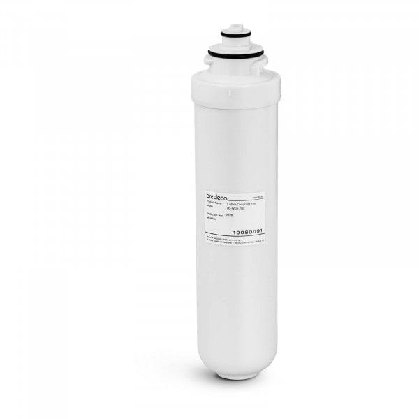 Filtro de agua por osmosis inversa - filtración de dos niveles - 1 µm/5 µm
