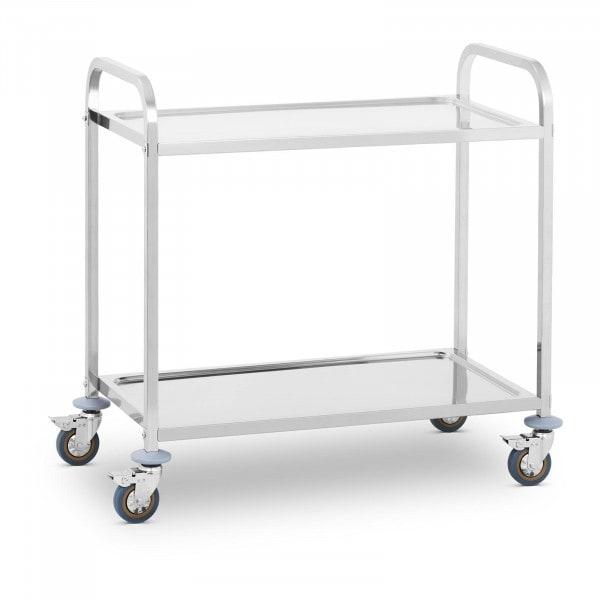 Carro de servicio - 2 estantes - hasta 160 kg