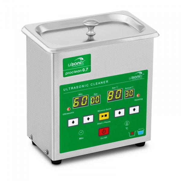Limpiador ultrasonidos - 0,7 litros - Memory Quick