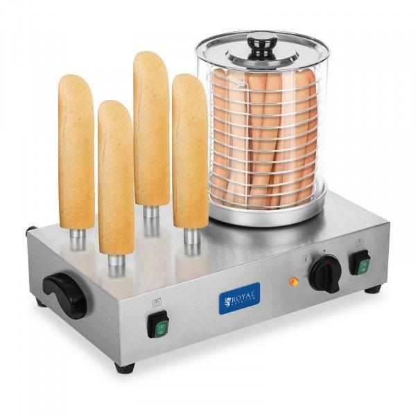 Máquina de perritos calientes - con pinchos de tostado