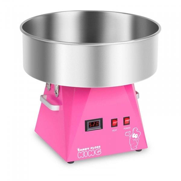 Máquina de algodón de azúcar - 52 cm - rosa