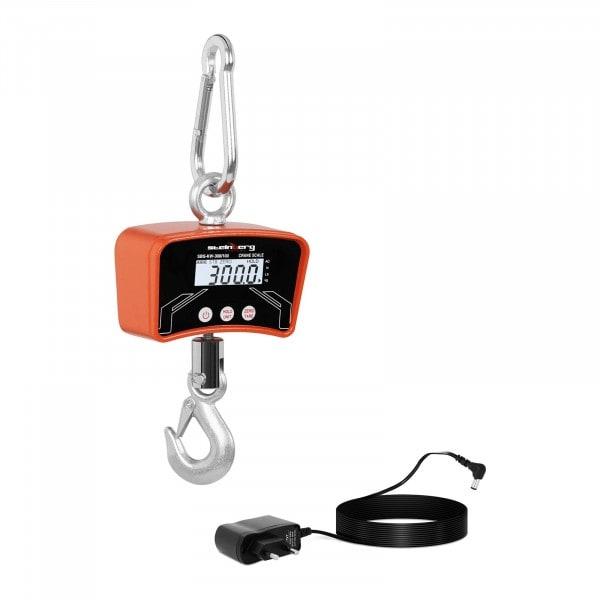 Dinamómetro digital - 300 kg / 100 g