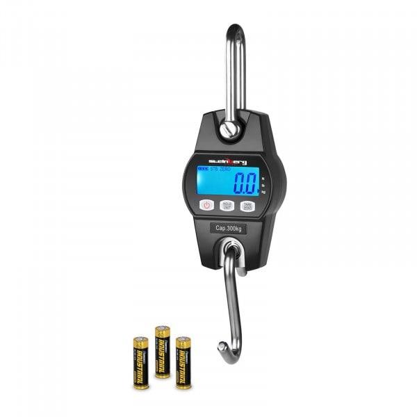 Dinamómetro digital - 300 kg / 100 g - negro