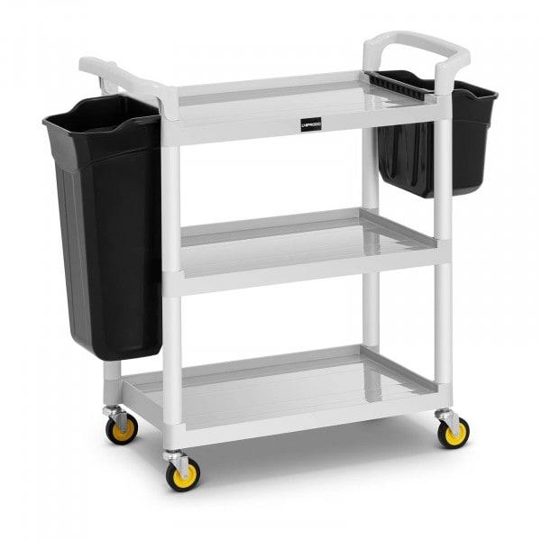 Carro de servicio para hotel - 150 kg - 2 contenedores