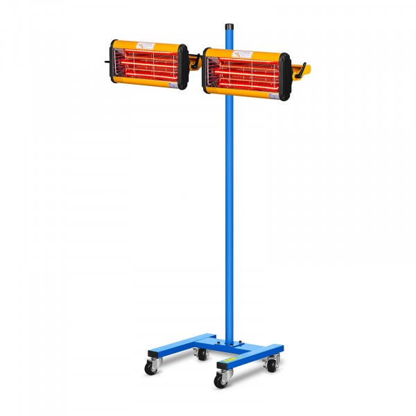 Secador de pintura infrarrojo - 2.200 W - 2 lámparas
