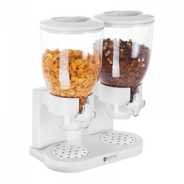 Dispensador de cereales - 2 contenedores - 7 l