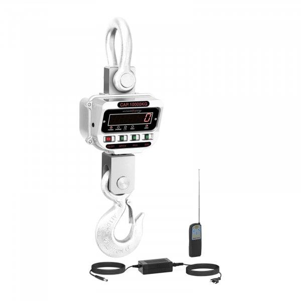 Dinamómetro digital - 10 t / 2 kg - LED