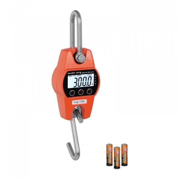 Dinamómetro digital - 300 kg / 100 g-naranja