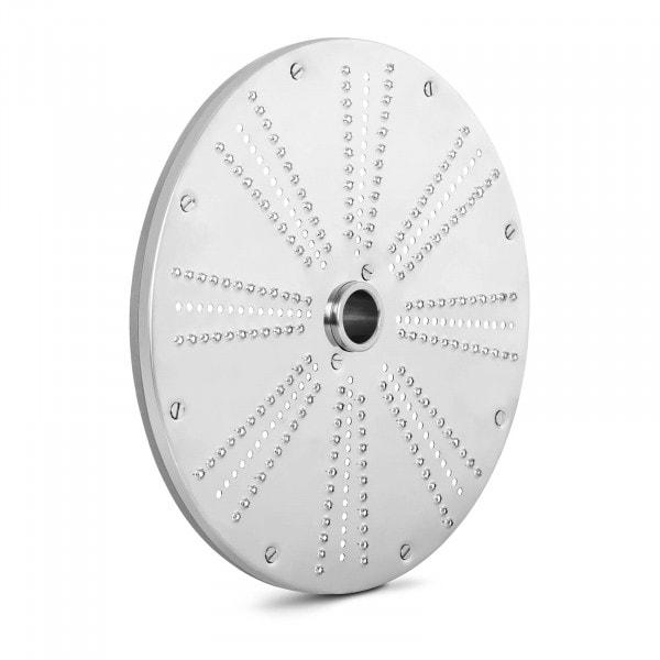 Disco rallador - 205 mm - grosor de corte 1 mm - acero inoxidable