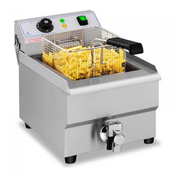Freidora eléctrica - 16 litros - grifo de vaciado - 230 V