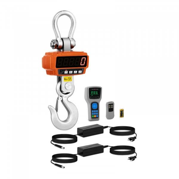 Dinamómetro digital -5 t/1kg-Remote Display