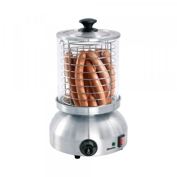 Gesamtansicht von Hotdog-/Würstchen Gerät