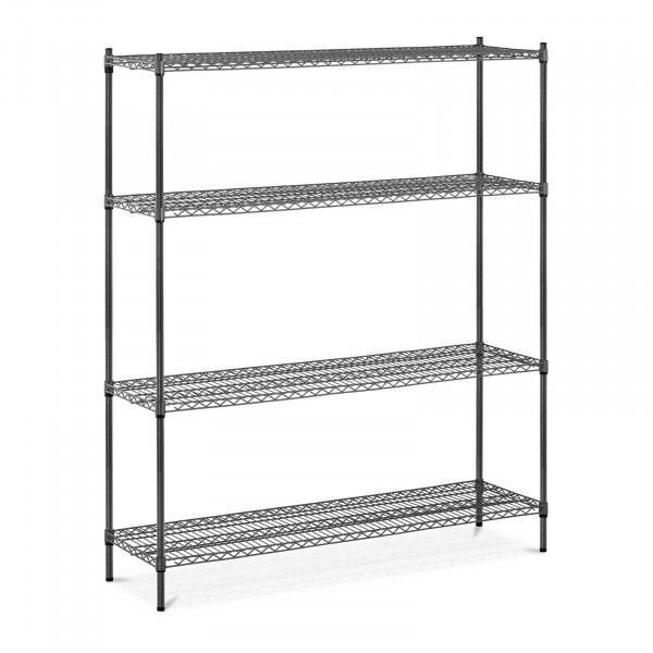 Estantería de metal - 150 x 45 x 180 cm - 1.000 kg - gris