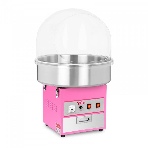 Máquina de algodón de azúcar - 52 cm - 1.200 watt - cobertura