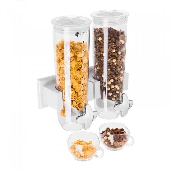 Dispensador de cereales 2 contenedores - 3 l