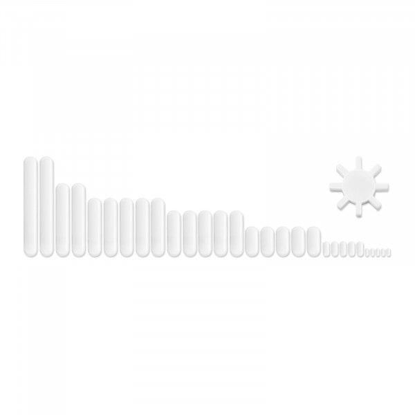 Set de barras de agitación magnética - 30 piezas