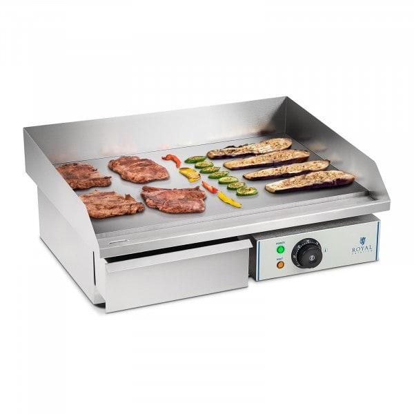 Plancha eléctrica fry-top - 55 cm - liso - 1 x 3,0 kW