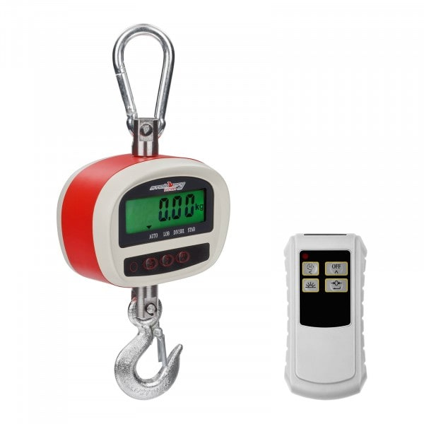 Segunda Mano Dinamómetro digital - 300 kg / 50 g- LCD