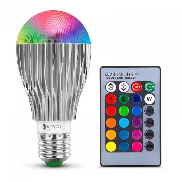 Bombilla LED con mando a distancia - 16 opciones de color - 5 W