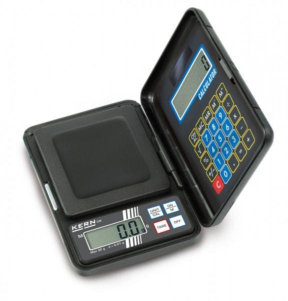 KERN Balanza de bolsillo CM - 150g / 0,1g - 180g