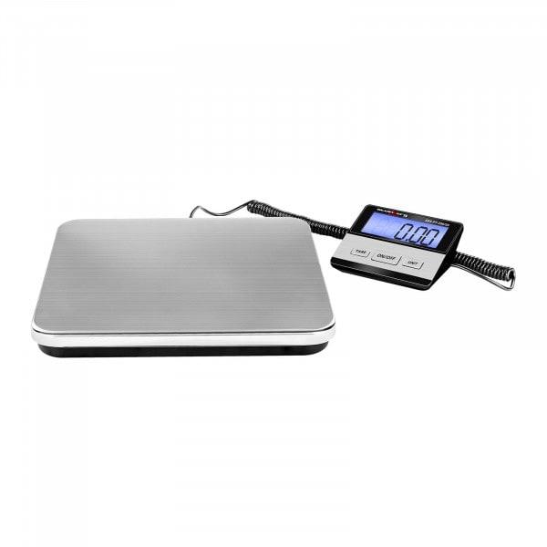 Báscula para paquetería digital - 200 kg / 50 g - Basic - LCD externo