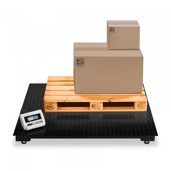 Báscula de suelo - 3 t / 1 kg - LCD