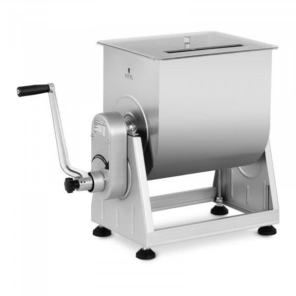 Mezcladora de carne - 28 L - acero inoxidable - manual